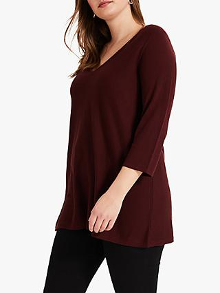 Studio 8 Lizzy V-Neck Jumper, Rust