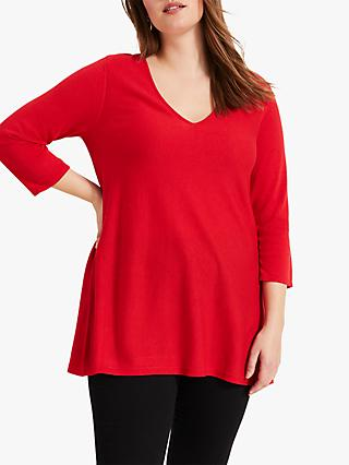 Studio 8 Lizzy V-Neck Jumper, Red