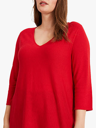 Buy Studio 8 Lizzy V-Neck Jumper, Red, 26 Online at johnlewis.com