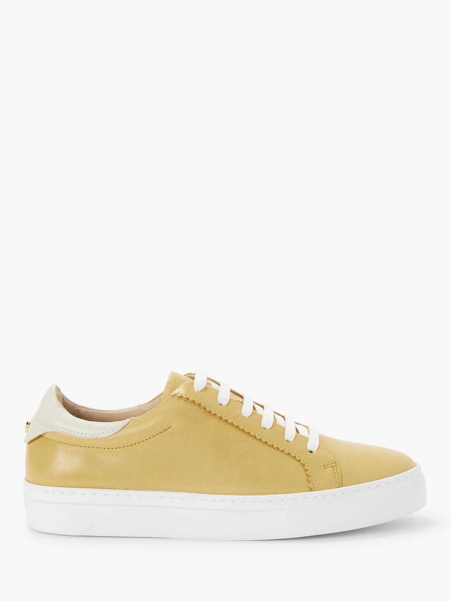John Lewis & Partners Florence Leather Trainers at John