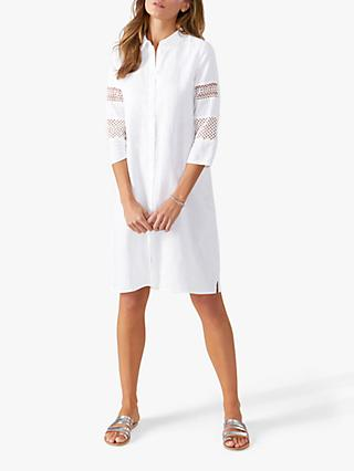Pure Collection Ladderwork Tunic, White