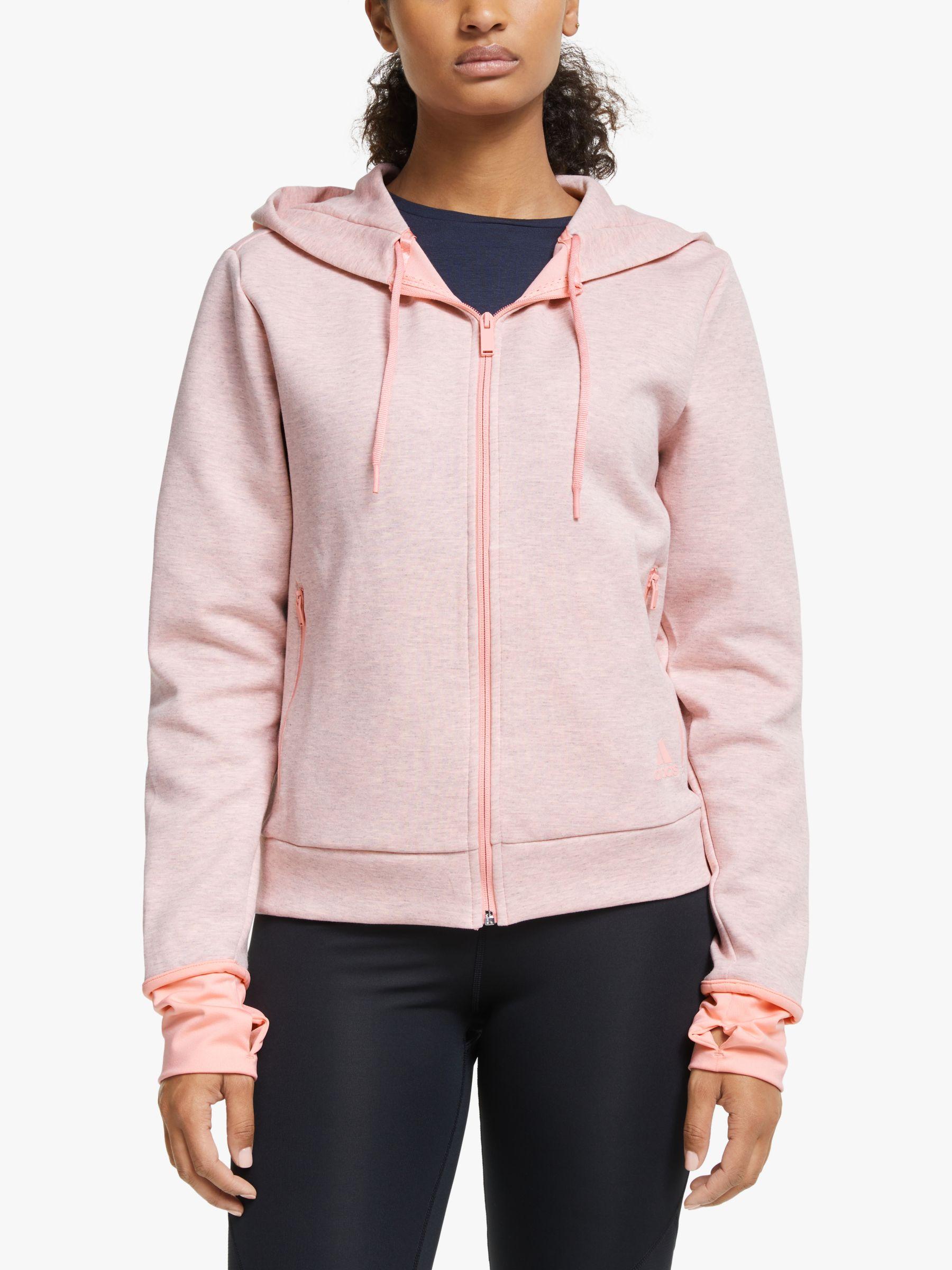 Adidas adidas Must Haves Versatility Hoodie, Glory Pink Melange