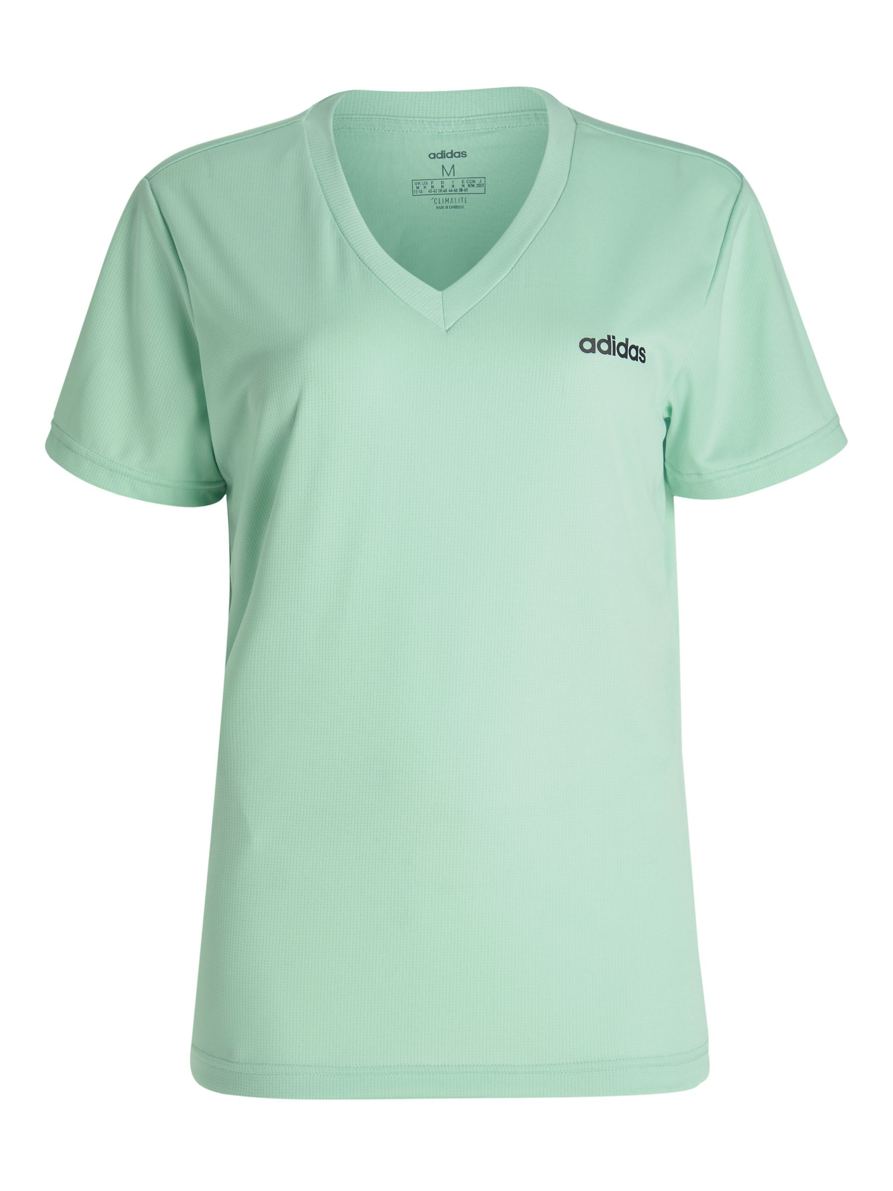Adidas adidas Designed 2 Move Training Top, Green Tint