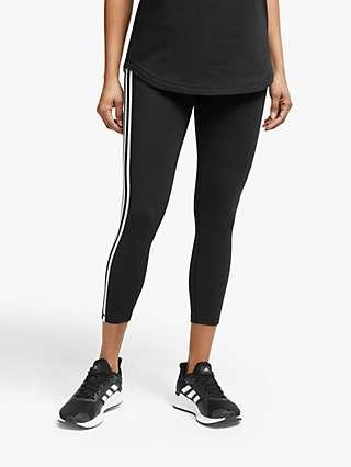 adidas Believe This 3-Stripes 7/8 Training Tights, Black