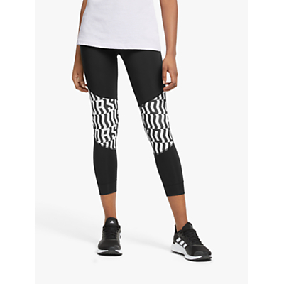 Product photo of Adidas own the run graphic running tights black