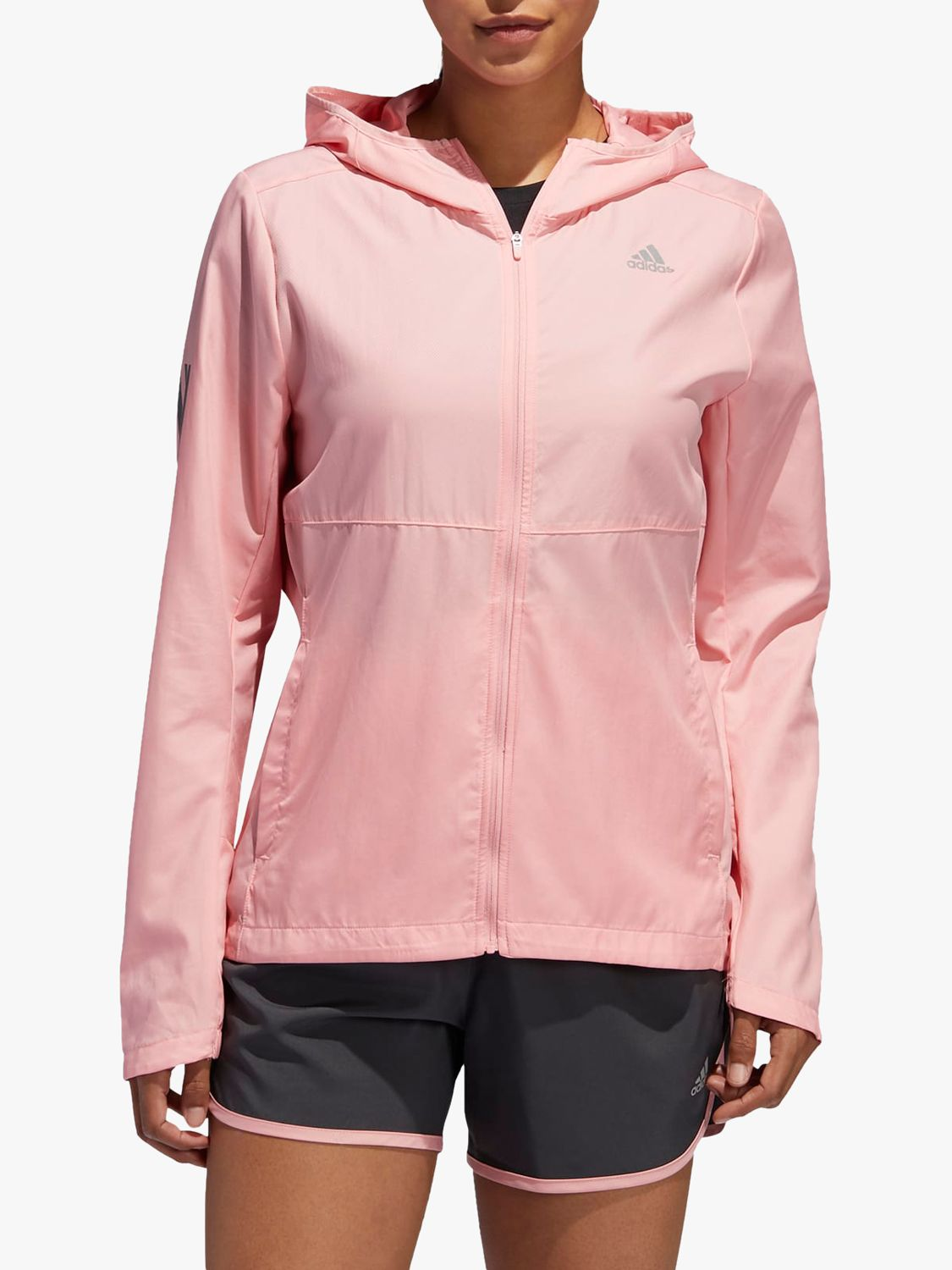 Adidas adidas Own The Run Hooded Wind Women's Running Jacket