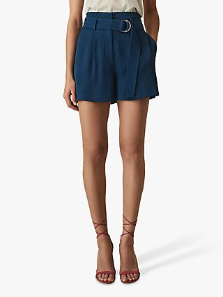 Reiss Elaine Belted City Shorts