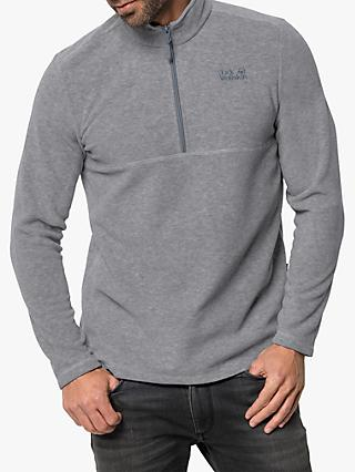 Jack Wolfskin Gecko Men's Fleece, Slate Grey