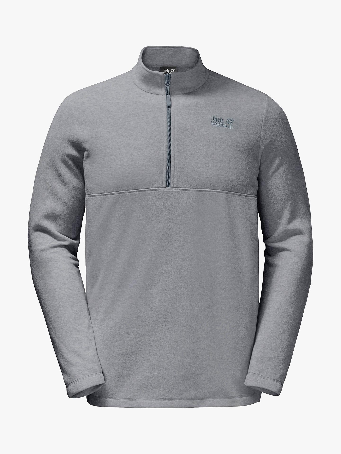 promo code 437c7 c04bf Jack Wolfskin Gecko Men's Fleece, Slate Grey