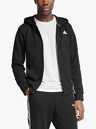adidas Must Haves 3-Stripes Full Zip Hoodie