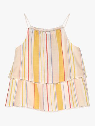 Mintie by Mint Velvet Girls' Rainbow Camisole, Multi