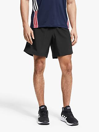 adidas Own The Run Two-In-One Shorts, Black/Solar Red