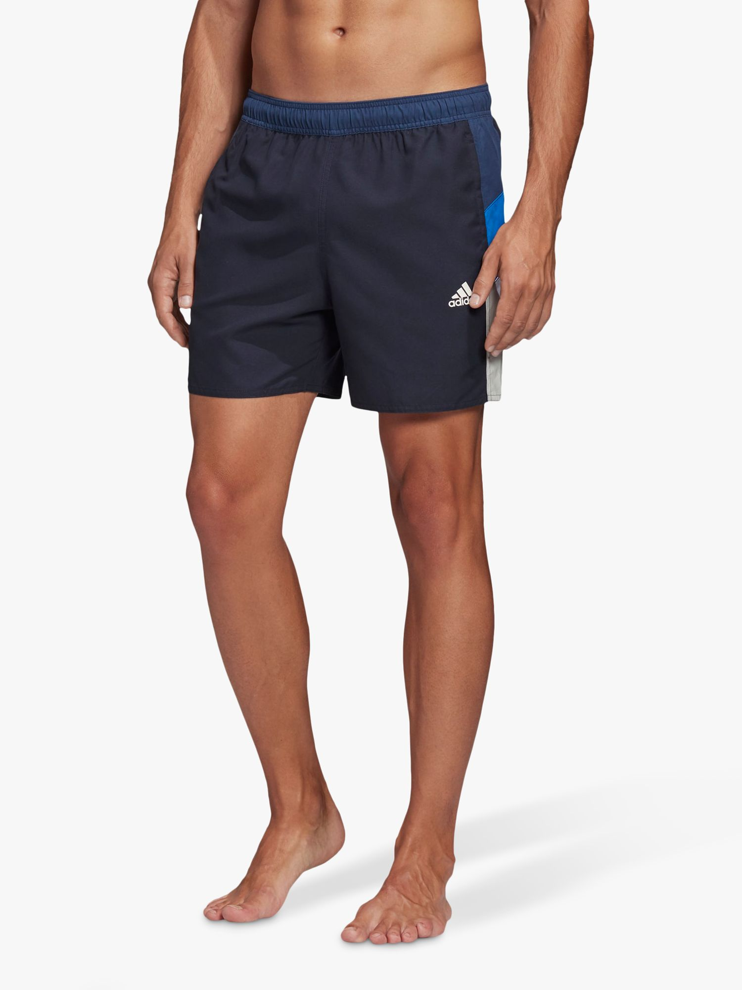 Adidas adidas Colorblock CLX Swim Shorts, Legend Ink
