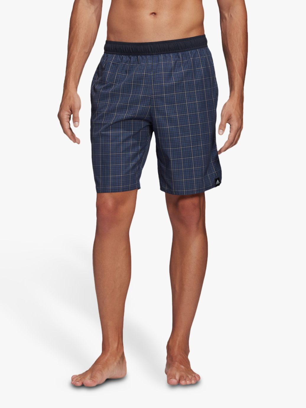 Adidas adidas Check CLX Swim Shorts, Legend Ink
