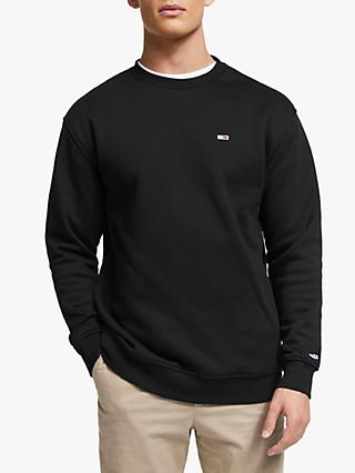 Tommy Jeans Classic Crew Neck Sweatshirt, Black
