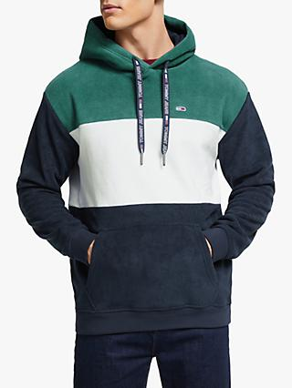 Tommy Jeans Bold Stripe Hoodie, Atlantic Deep/Black Iris