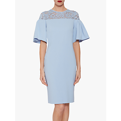 Gina Bacconi Boriana Moss Dress
