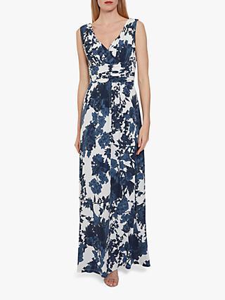 3b909928ebe Gina Bacconi Maliana Floral Print Jersey Maxi Dress