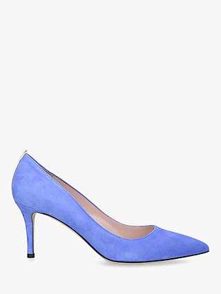 SJP by Sarah Jessica Parker Fawn 70 Stiletto Heel Suede Court Shoes
