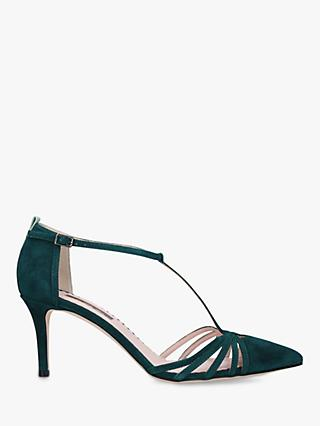 SJP by Sarah Jessica Parker Carrie 70 Stiletto Heel Suede Court Shoes