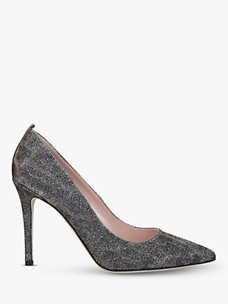 SJP by Sarah Jessica Parker Fawn 100 Stiletto Heel Leather Court Shoes