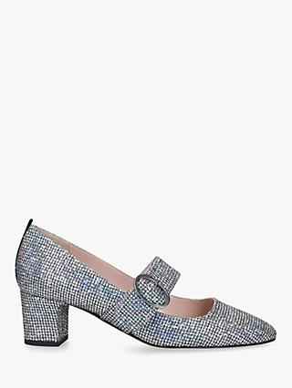 SJP by Sarah Jessica Parker Tartt Block Heel Court Shoes, Multi