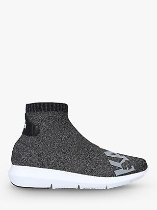 KARL LAGERFELD Vitesse Sock Trainers, Dark Grey
