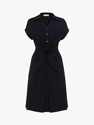 Phase Eight Sierra Sleeveless Shirt Dress, Navy