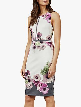 Ted Baker Nanina Floral Dress, Grey Light