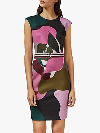 Ted Baker Ginina Print Bodycon Dress, Multi