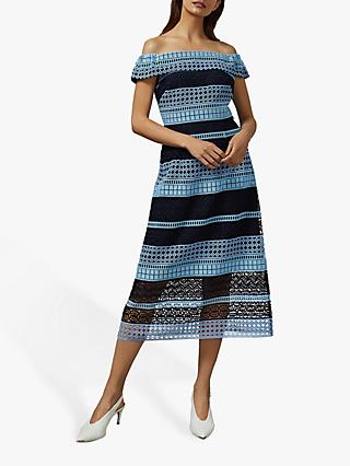 Ted Baker Candaca Dress, Blue/Multi