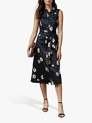 Ted Baker Bonina Dress, Dark Blue