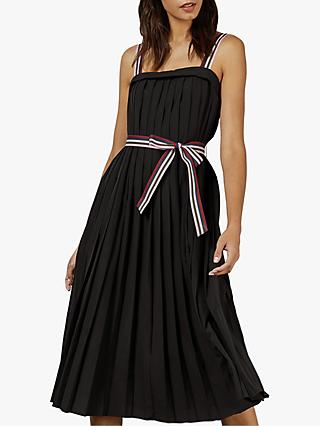 Ted Baker Pleatzi Pleated Dress, Black