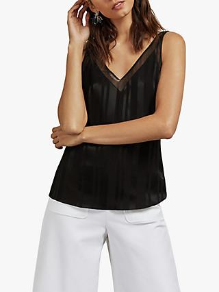 Ted Baker Edden V-Neck Cami Top, Black