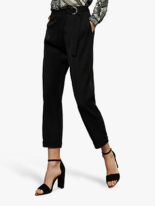 Ted Baker Aisima Black Trousers, Black