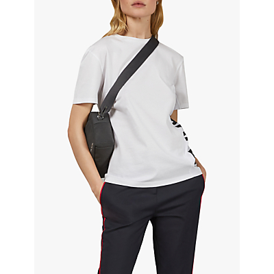 Image of Ted Baker Abbee Cotton Top, White