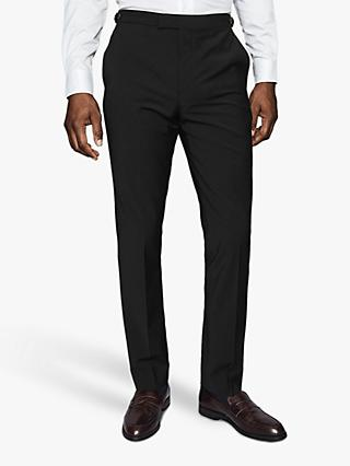 Reiss Hope T-Mixer Modern Fit Suit Trousers, Black