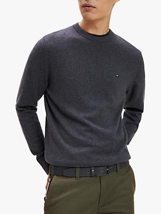 Tommy Hilfiger Pima Cotton Cashmere Jumper, Sky Captain