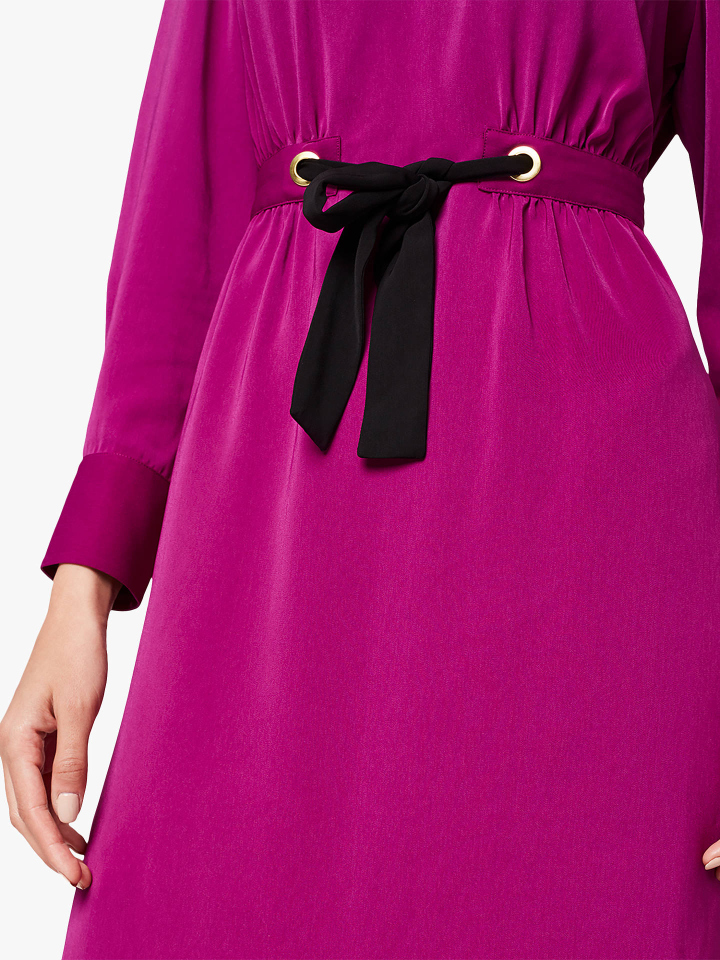 Buy Damsel in a Dress Hannah Colourblock Tunic Dress, Purple/Black, 8 Online at johnlewis.com