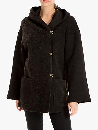 Max Studio Hooded Jacket, Black