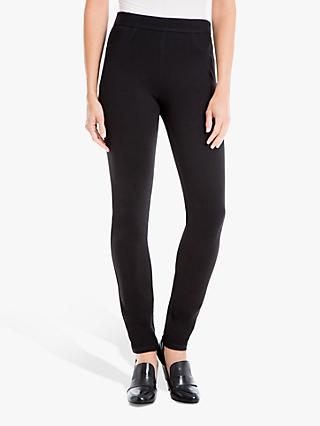 Max Studio Ponte Trousers, Black