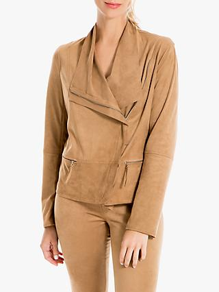 Max Studio Suedette Jacket, Brown