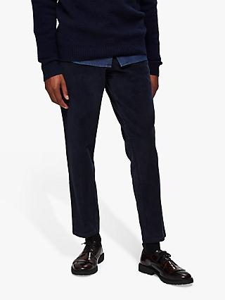 SELECTED HOMME Organic Cotton Corduroy Trousers