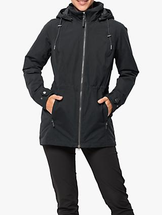 Jack Wolfskin Narita Women's Waterproof Jacket, Phantom