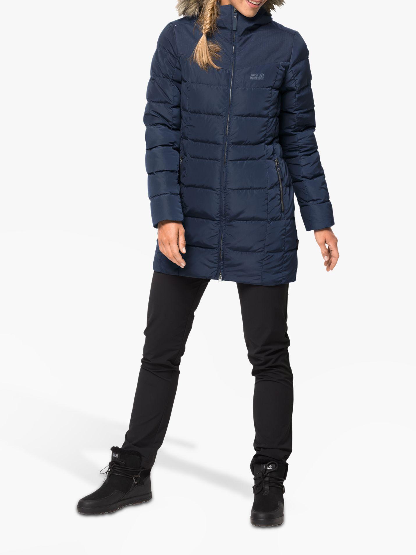 Jack Wolfskin Jack Wolfskin Baffin Island Women's Insulated Coat, Midnight Blue