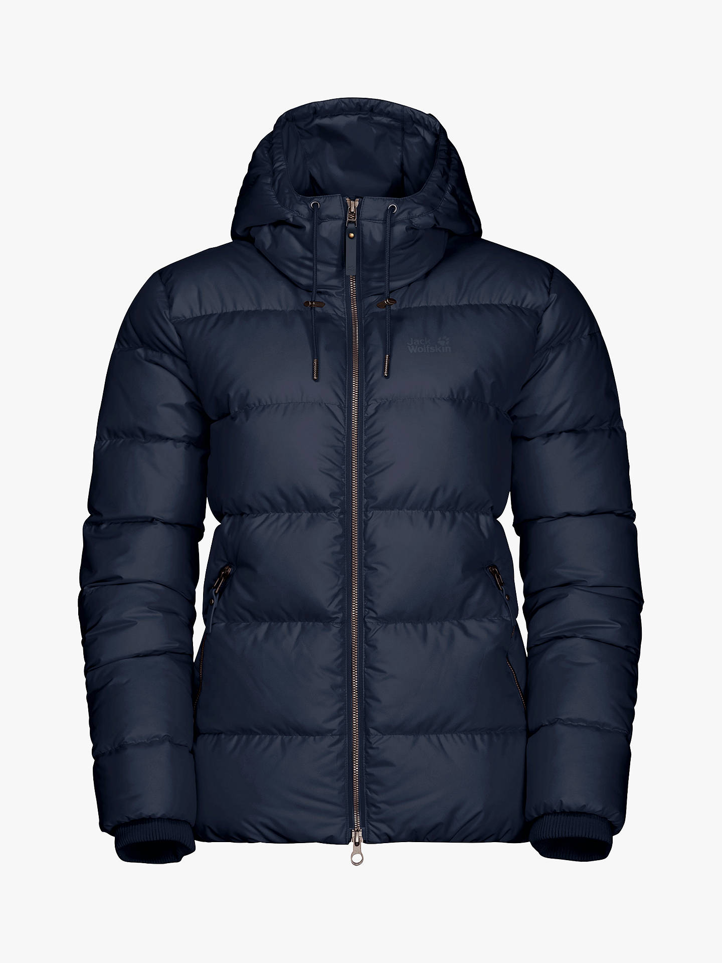 Jack Wolfskin Crystal Palace Women's Water Resistant Jacket, Midnight Blue
