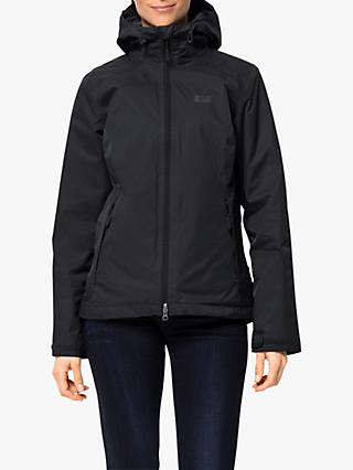 Jack Wolfskin Gotland 3-in-1 Women's Waterproof Jacket, Black