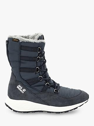 Jack Wolfskin Nevada Texapore Women's Waterproof Winter Boots, Dark Blue/Off White