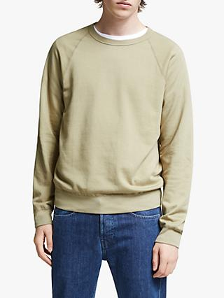 Save Khaki United Supima Fleece Raglan Crew Neck Sweatshirt
