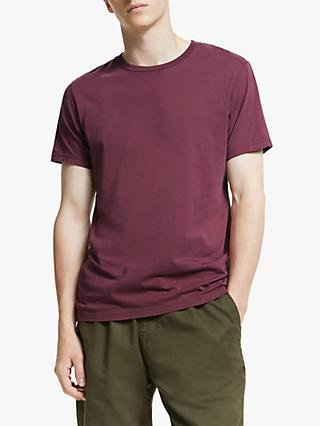 Save Khaki United Supima Jersey T-Shirt, Raisin